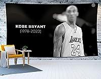 カオスバスケットボールタペストリー、プレーヤーポスター軽い吊り下げオフィスリビングルームと寝室の装飾の大きいサイズ24#ベッドスプレッドピクニックシートの装飾 B