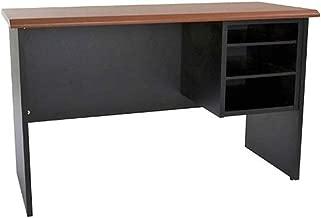 Mahmayi Silini Side Extension Unit Desk, Cherry/Black, 64 X 103 X 45cm, GE106
