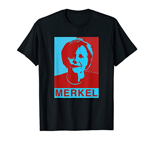Angela Merkel T-Shirt Obama Style
