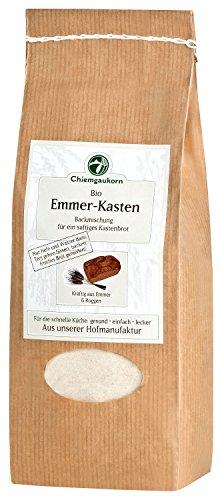 Chiemgaukorn Bio Chiemgauer Emmer-Kasten, Backmischung 520 g