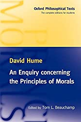 Enquiry Concerning the Principles of Morals Book Cover