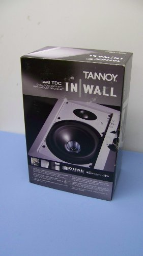 Check Out This Tannoy iw6 TDC Wall Mount Speaker (White)