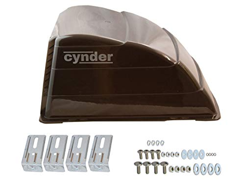 Cynder 02032 Universal Roof Vent Cover Camper Trailer RV Motorhome (Smoke)