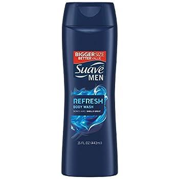 Suave Men Body Wash Refresh 15 Fl Oz