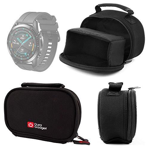 DURAGADGET Funda De Neopreno para Huawei Watch GT 2 Sport, Garmin Fenix ??6S Pro, Emporio Armani ART5007 + Gamuza Limpiadora - ¡Idónea para Viajes!