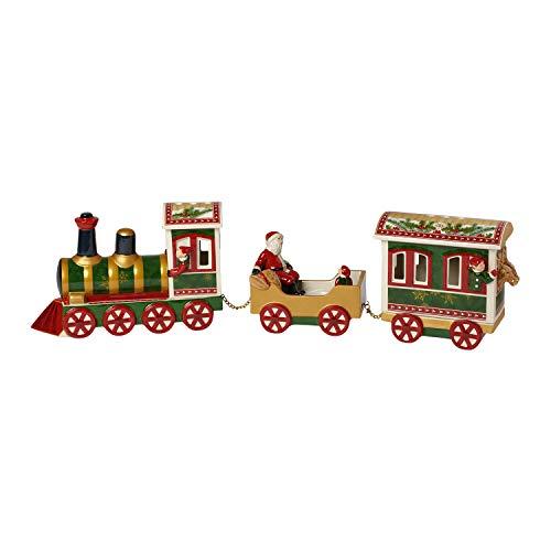 """Villeroy & Boch Christmas Toys Memory Figurine en porcelaine """"Pôle Nord Express"""", Porcelaine, Multicolore"""