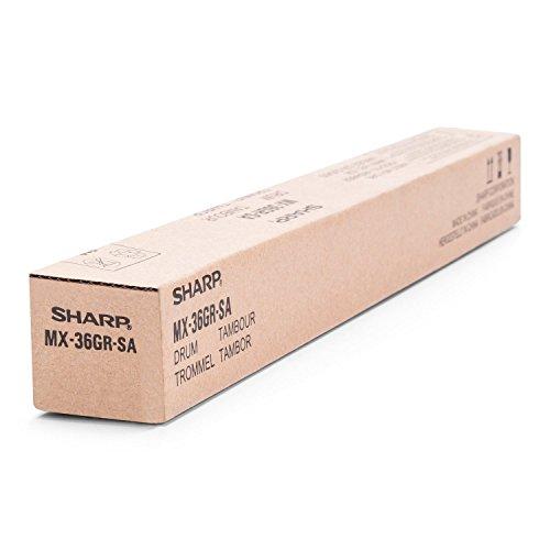Sharp mx-36grsa schwarz, gelb Drum Drucker–Trommeln Druckertisch (mx-2010/2310U/3111U/2314N/2614N/3114N/2640N/3140N/3640N/2610N/3110N/3610N, 100000Seiten, 60000Seiten, Laser, Schwarz, Cyan, Magenta, Gelb, Sharp)
