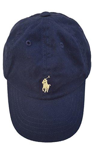 Polo Ralph Lauren Kids Baby Boy's Cotton Classic Cap (Infant) Newport Navy One Size