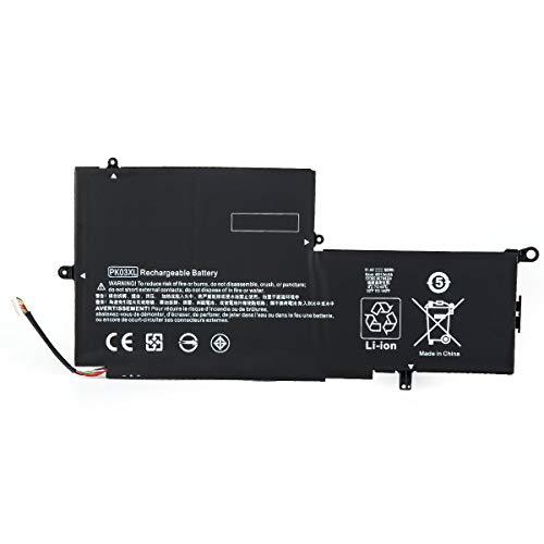 ASKC PK03XL Batteria per HP Spectre Pro X360 G1 G2 Spectre 13-4000 13-4100 13-4200 13-4000nf 13-4006tu 13-4103dx 13-4003dx Laptop HSTNN-DB6S TPN-Q157 789116-005 788237-2C1 11.4V 56WH