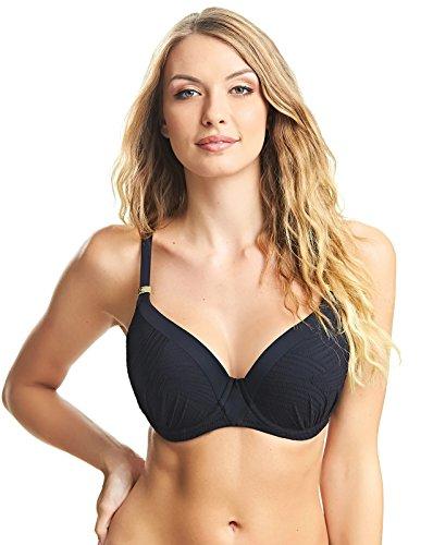 Fantasie Swim Ottawa Bikini Push-up Beha E-I cup BLACK 75F