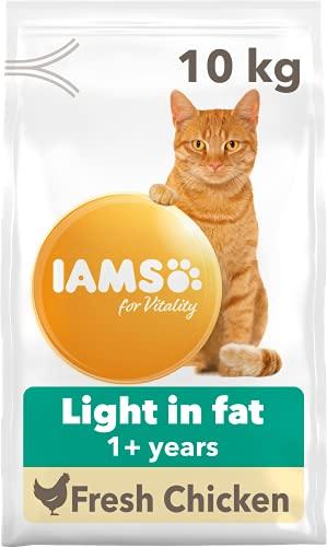 IAMS Stérilisé - Croquettes pour Chat Adulte stérilisé ou en surpoids - Poulet - 10kg