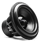 Skar Audio ZVX-15v2 D1 15' 3000 Watt Max Power Dual 1 Ohm SPL Car Subwoofer