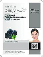 【DERMAL】ダーマル シートマスク 炭 10枚セット/保湿/フェイスマスク/フェイスパック/マスクパック/韓国コスメ [メール便]