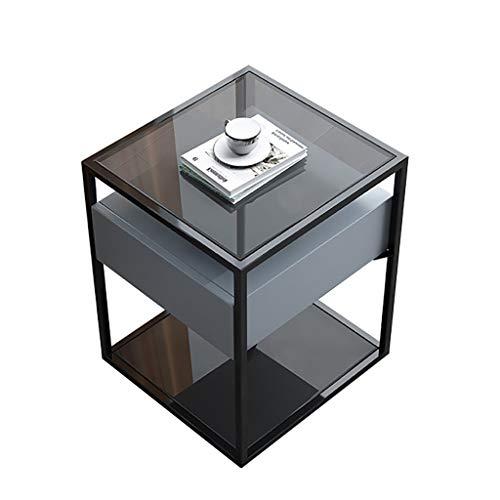 Saladplates-LXM Ende Tabellen, Nordic Minimalistischer Italienischer Nachttisch, Modern Minimalistische Kleine Ins Wind Beistelltisch, Keine Notwendigkeit, Sofaecke Tisch Zu Installieren (Color : D)