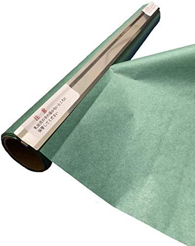 グリーンパーチ ロール カッター付き 熟成紙 魚を包む緑の紙 耐湿紙 グリーンパーチペーパー 吸水紙 津本式 耐水紙 (50m)