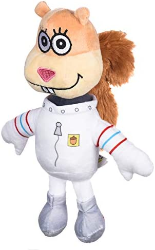 Nickelodeon Spongebob Squarepants Sandy Figure Plush Dog Toy 6 Inch Small Dog Toy for Spongebob product image