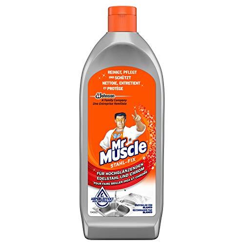 Mr Muscle Stahl-fix, Edelstahl-Reiniger, 1er Pack (1 x 200 ml)
