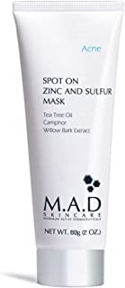M.A.D SKINCARE ACNE: Spot On Zinc and Sulfur Mask - 60g
