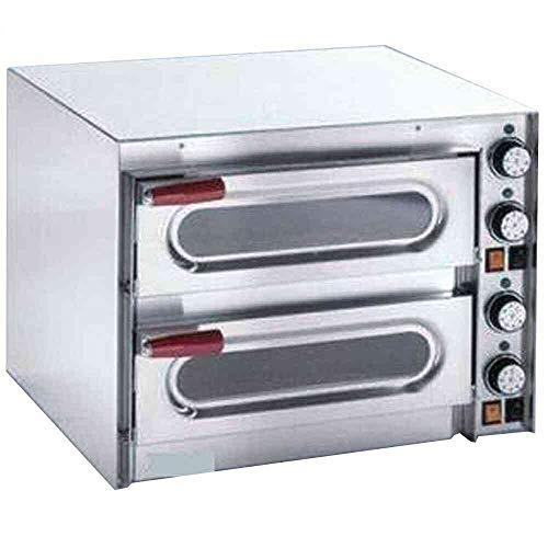 Macfrin 5111 Horno Eléctrico para 1+1 Pizzas