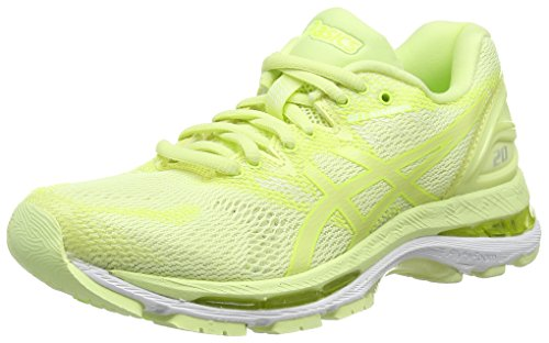 ASICS Damen Gel-Nimbus 20 Laufschuhe, Gelb (Green Limelight/Green Limelight/Safety Yellow 8585), 41.5 EU