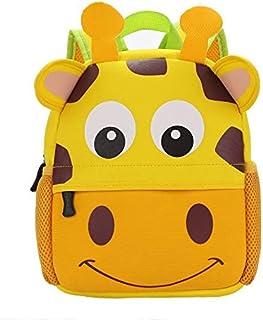 Kids School Girrafe kindergarten Back Bag
