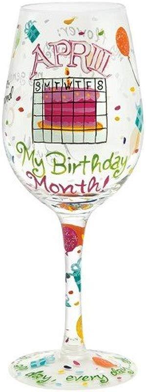 Lolita Love My Birthday Month Wine Glass March