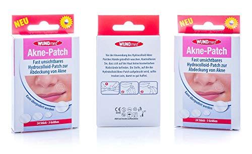 3 x acne-patch, 72 stuks in 3 verschillende maten.