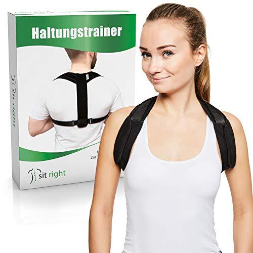 sit right Haltungstrainer zur Verbesserung der Körperhaltung –...