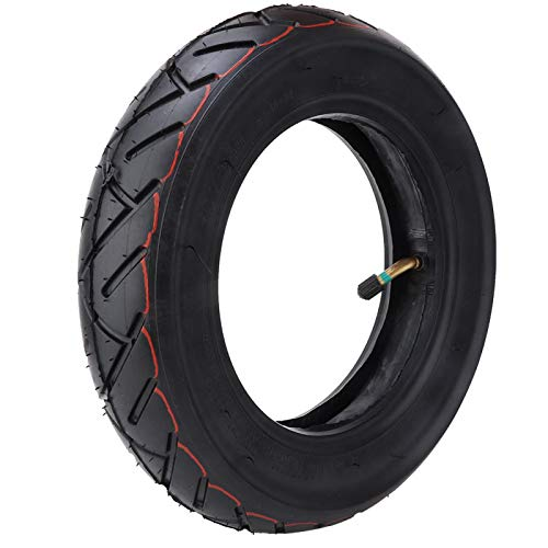 Keenso 10 x 2,5 Zoll Roller Reifen, leichte Roller Reifen Gummi für Xiaomi Mijia M365 Elektroroller