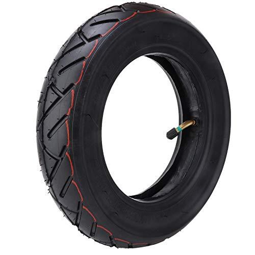 Keenso Neumático de Scooter de 10 x 2,5 Pulgadas, neumáticos de Scooter Ligero de Goma para Scooter eléctrico Xiaomi Mijia M365