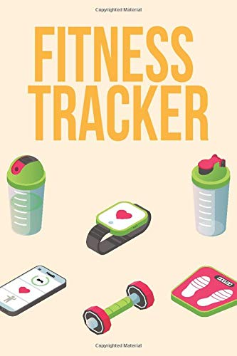Fitness Tracker: Fitness Exercising Home Workout Training Bodybuilding Cardio Crossfit Logbook Tracker Gift Journal for Women and Men