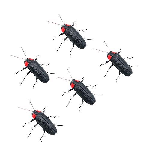 Namvo 5Pieces Insects Bugs - Juego de figuras de acción – Juguete educativo – Paquete de fiesta perfecto y regalo de gag – Firefly