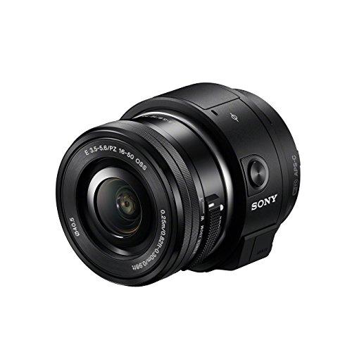 Sony ILCE-QX1L Systemkamera (WiFi, NFC, PlayMemories Mobile App) inkl. SEL-P1650 schwarz