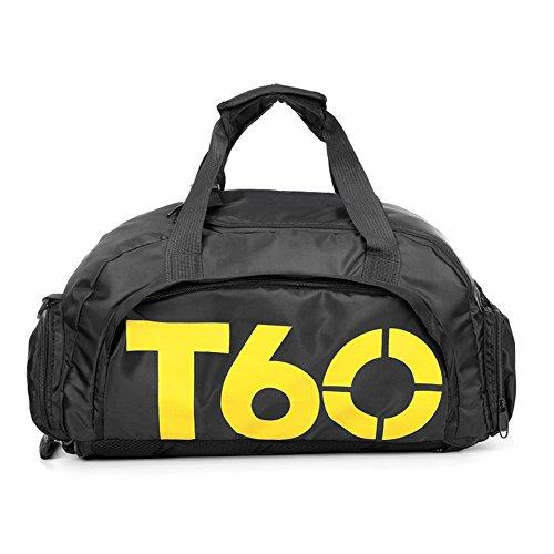 Diversi modi di trasporto: 3modi per trasportarlo, può essere utilizzato come zaino, borsa o borsa a tracolla. Dettagli: la borsa ha quattro tasche, un grande scomparto principale, uno frontale, uno piccolo laterale e uno scomparto per le scarpe; gr...
