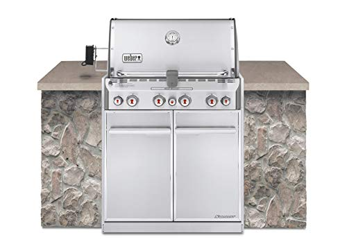 Weber Summit S-460 Built-In Natural Gas in Stainless Steel Grill a Assembly Featured Free Gas Gift Grill Grills Guide: Home Natural Products Service Weber with