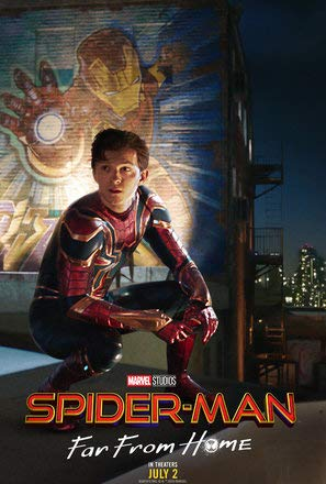Spider-Man : FAR from Home – U.S Movie Wall Poster Print - 30cm x 43cm / 12 Inches x 17 Inches