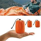 ELECTROPRIME Outdoor Survival Emergency Waterproof Sleeping Bag Thermal Blanket Reusable
