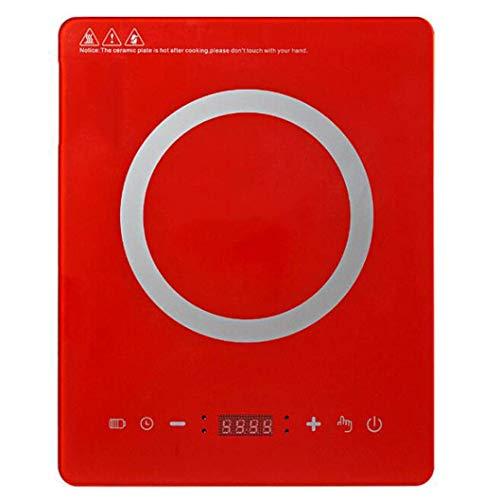 Cocina de inducción Portátil Tacto inteligente Inducción eléctrica FLOT 2000W HOGAR UTENSILSOS
