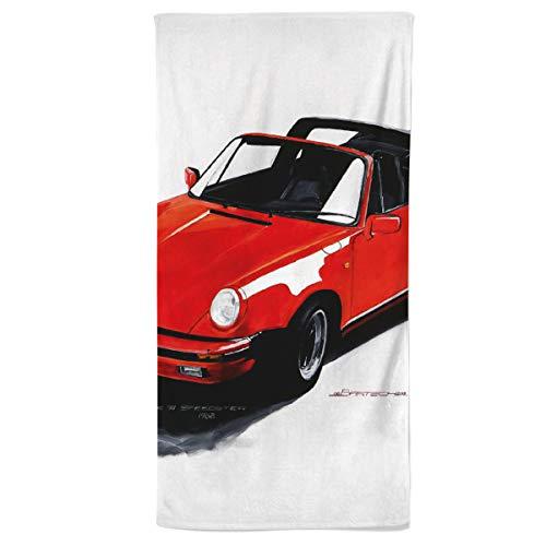 fotobar!style Handtuch 50 x 100 cm Porsche 911 Targa, 1989