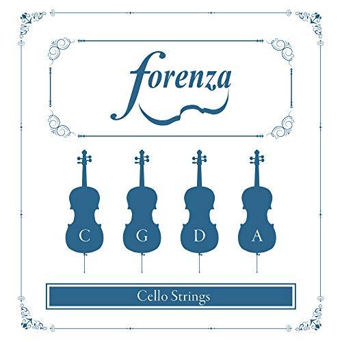 Forenza FA15COE - Juego de cuerdas para violonchelo, 1/2 y 1/4
