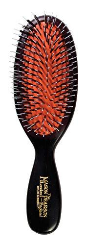 Mason Pearson BN4 - Cepillo para el pelo (cerdas de jabalí), color rosa