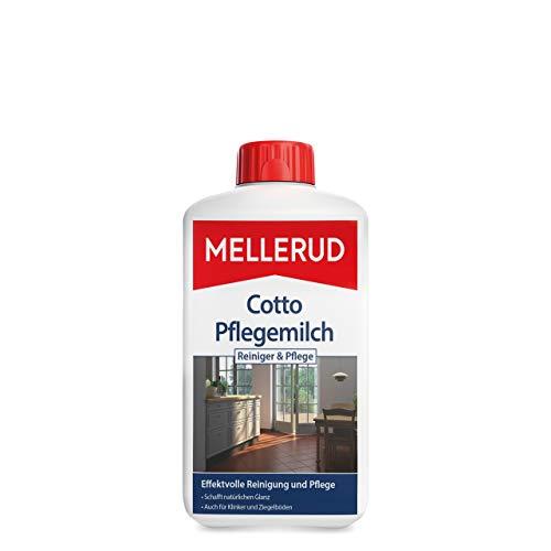 MELLERUD 2004050047 Cotto Pflegemilch Reiniger & Pflege Zuverlässiges Mittel zur Reinigung von gewachsten oder unbehandelten Fußböden, 1 x 1 l