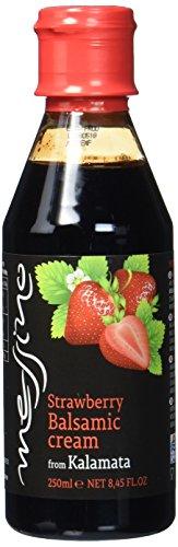 Papadeas - Messino Vinegars Erdbeer Balsamico Creme Glaze 250ml, 3er Pack (3 x 250 ml)