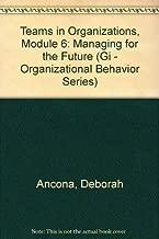Teams in Organizations, Module 6: Managing for the Future (Gi - Organizational Behavior Series)