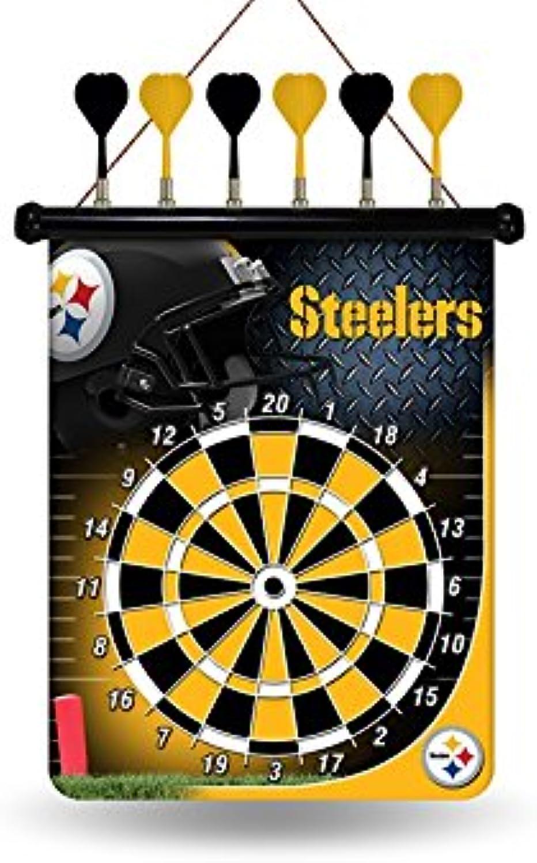 Unbekannt NFL Pittsburgh Steelers Dartscheibe, magnetisch B00SNUYHWQ  Leicht zu reinigende Oberfläche