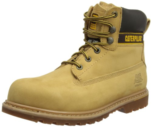 Cat Footwear Herren Holton Sicherheitsschuhe, Honig, 43 EU