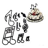 Set di formine per fondente musicale, per matrimoni, famiglie, parco per biscotti, per anniversari, spose, fidanzamenti, decorazioni per torte e zucchero, strumento per tagliare