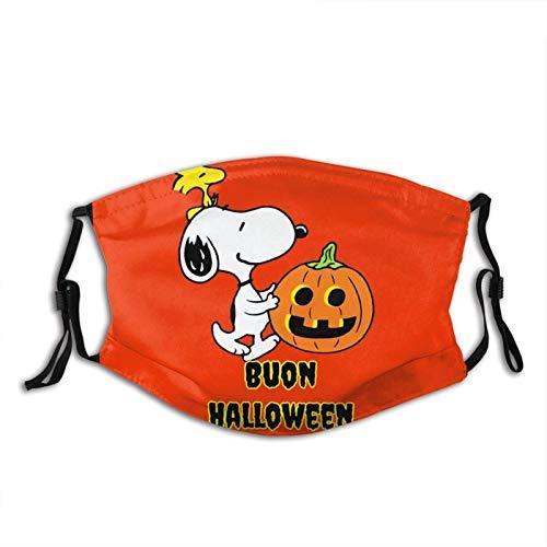 ELIENONO Scary Headwear SNO-o-py Disfraz de cosplay con impresin para adultos, nios, unisex, reutilizable, cmodo, lavable, para Halloween, festivales, fiestas, regalo de sorpresa