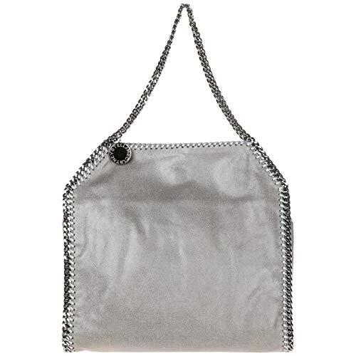 Stella McCartney borsa a spalla falabella small donna grigio