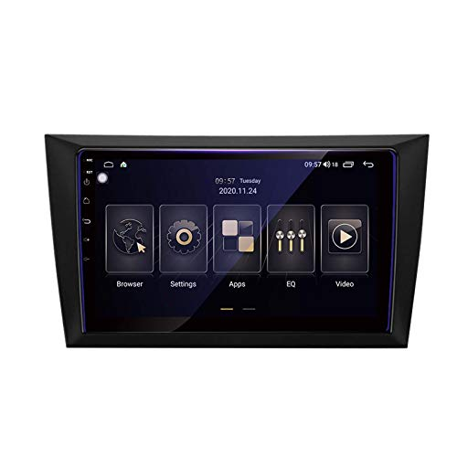 Android 9.0 Unidad De Cabeza DIN DICE DIN CAR STEREO PARA VOLKSWAGEN VW GOLF 6 2008-2016 GPS Navegación Pantalla Táctil Multimedia Player Radio Receptor Carplay D(Size:ocho núcleos,Color:WIFi:4+64G)